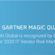 SAI Global Once Again Named a 2020 Gartner Magic Quadrant Leader for IT Vendor Risk Management Tools